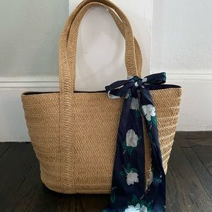 FABFITFUN STRAW SUMMER BAG